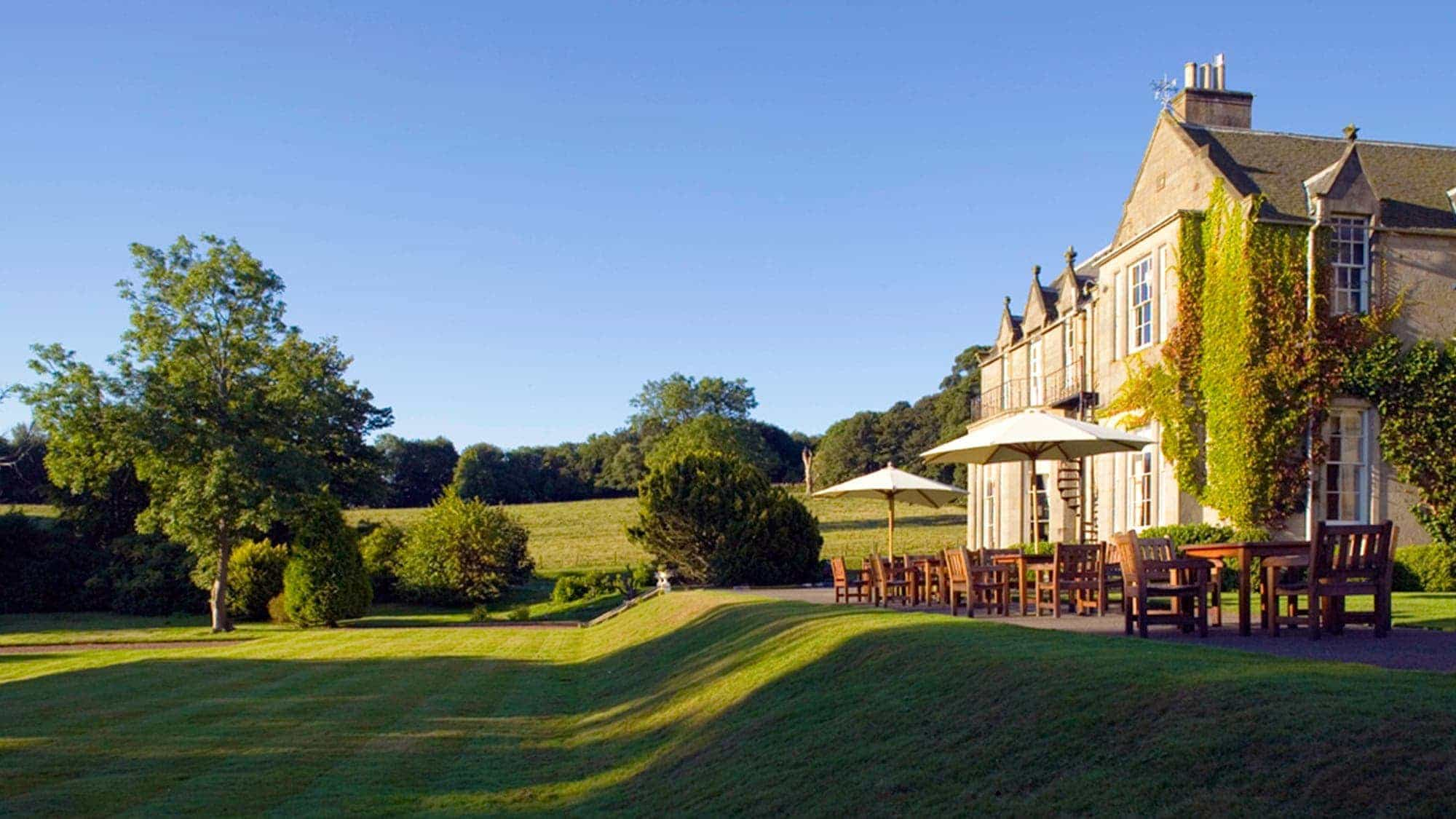 A Scottish country house hotel in Ingliston, Edinburgh