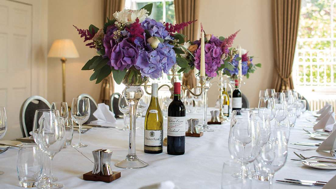 Luxury hotel spa in worleston nantwich cheshire for Best private dining rooms cheshire