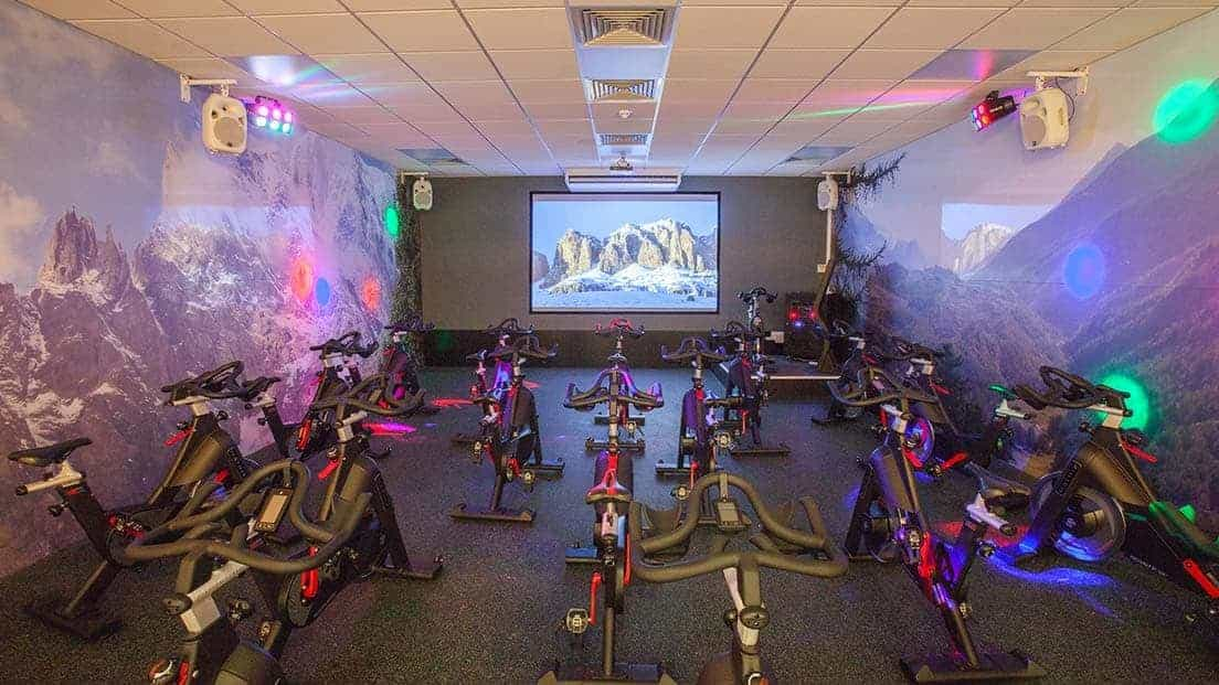 Spin Studio in Kent - Brandshatch Place Hotel
