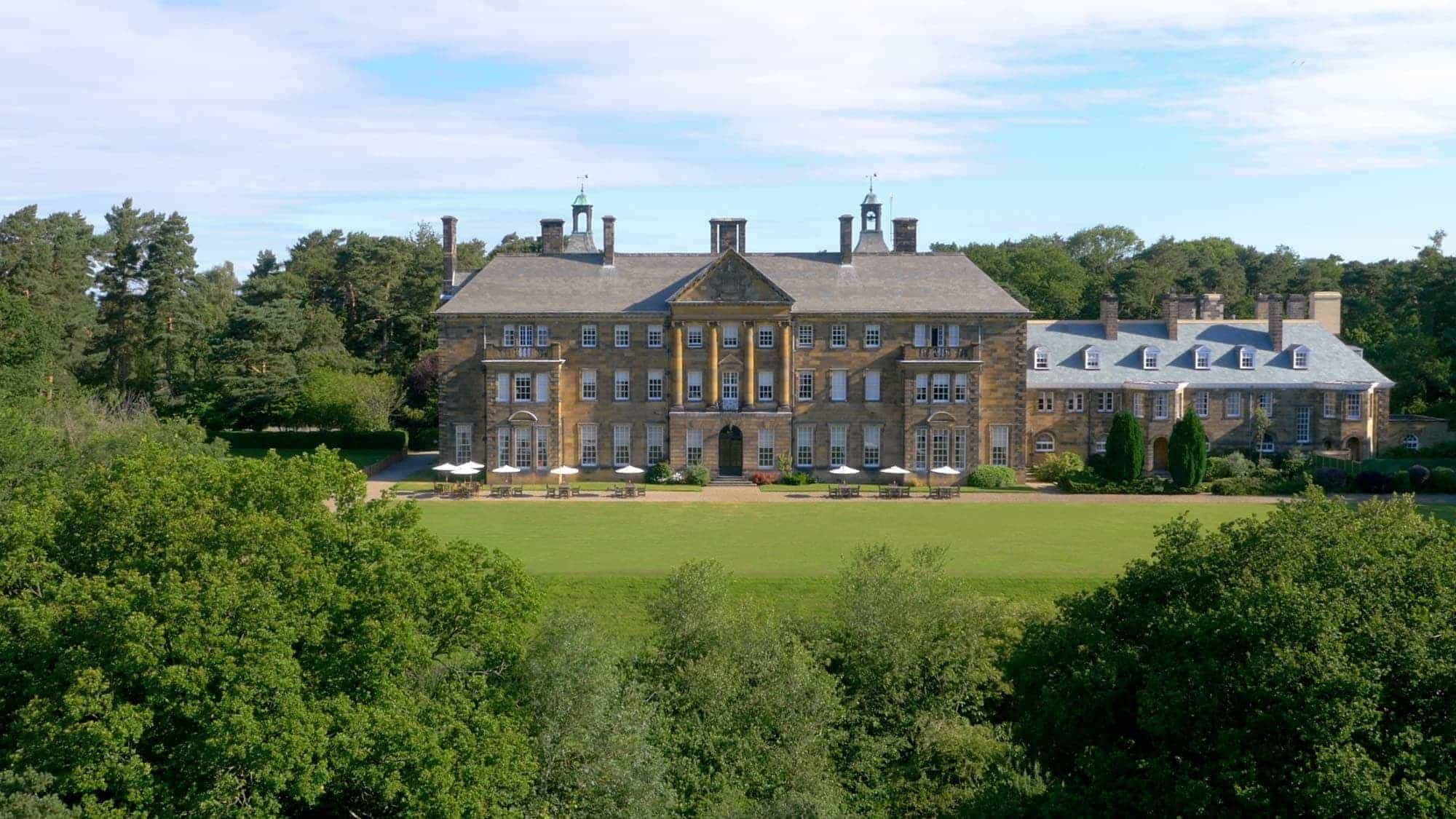 Luxury Hotels In North Yorkshire Crathorne Hall Hand Picked Hotels - Country house uk