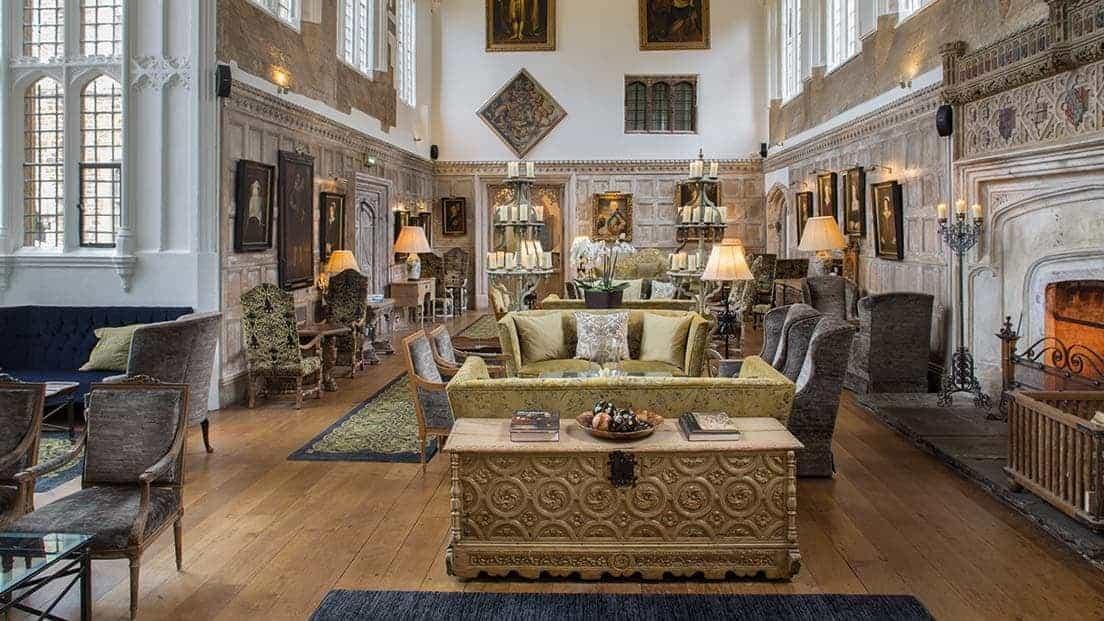 Tudor Great Hall At Fawsley Hall Hotel Amp Spa