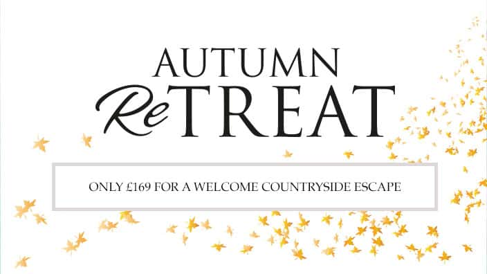 Autumn ReTREAT book by 3rd October