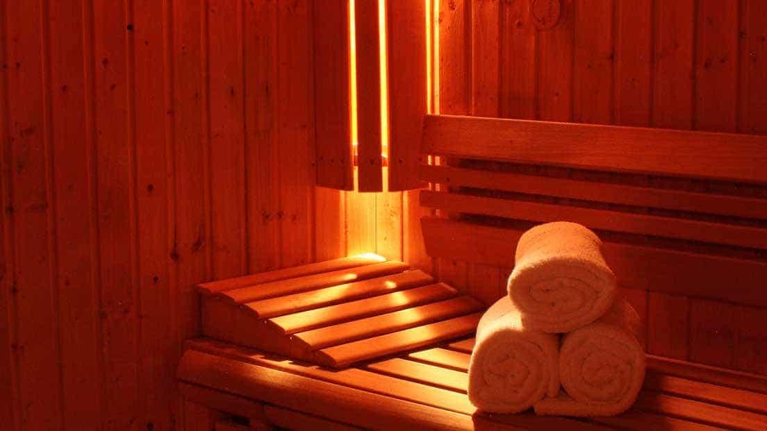Sauna in jersey grand hotel