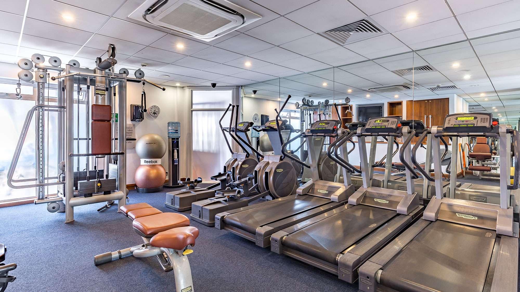 Fitness health club in jersey l horizon beach hotel