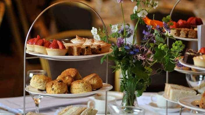 Celebration afternoon tea offer