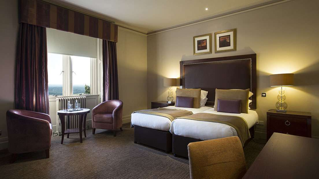 Deluxe accommodation at Nutfield Priory Hotel in Surrey