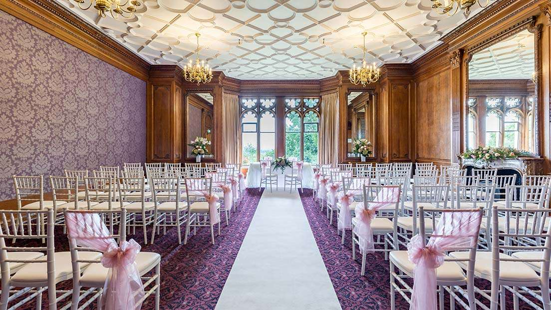 Wedding showcases at Nutfield Priory Hotel & Spa