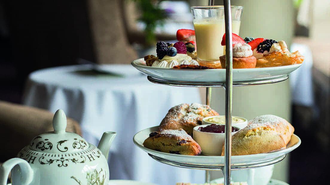 Rhinefield House Hotel Afternoon Tea