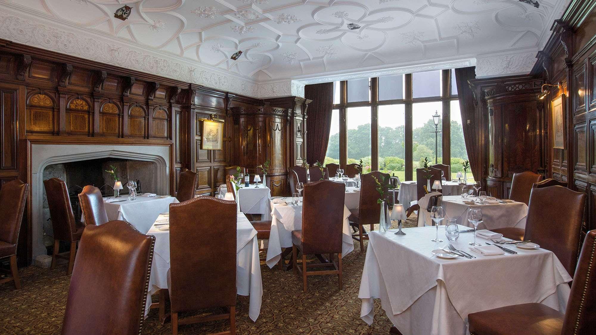 Rookery Hall Restaurant Menu