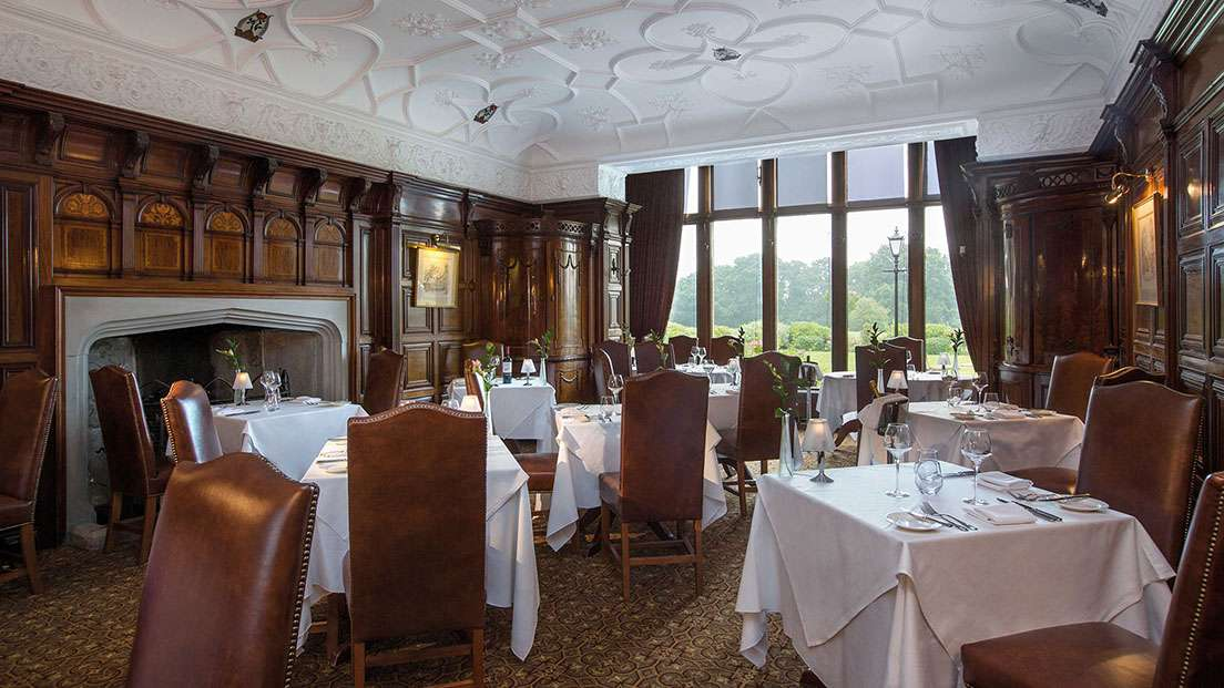 Rookery hall hotel dining in nantwich cheshire for Best private dining rooms cheshire