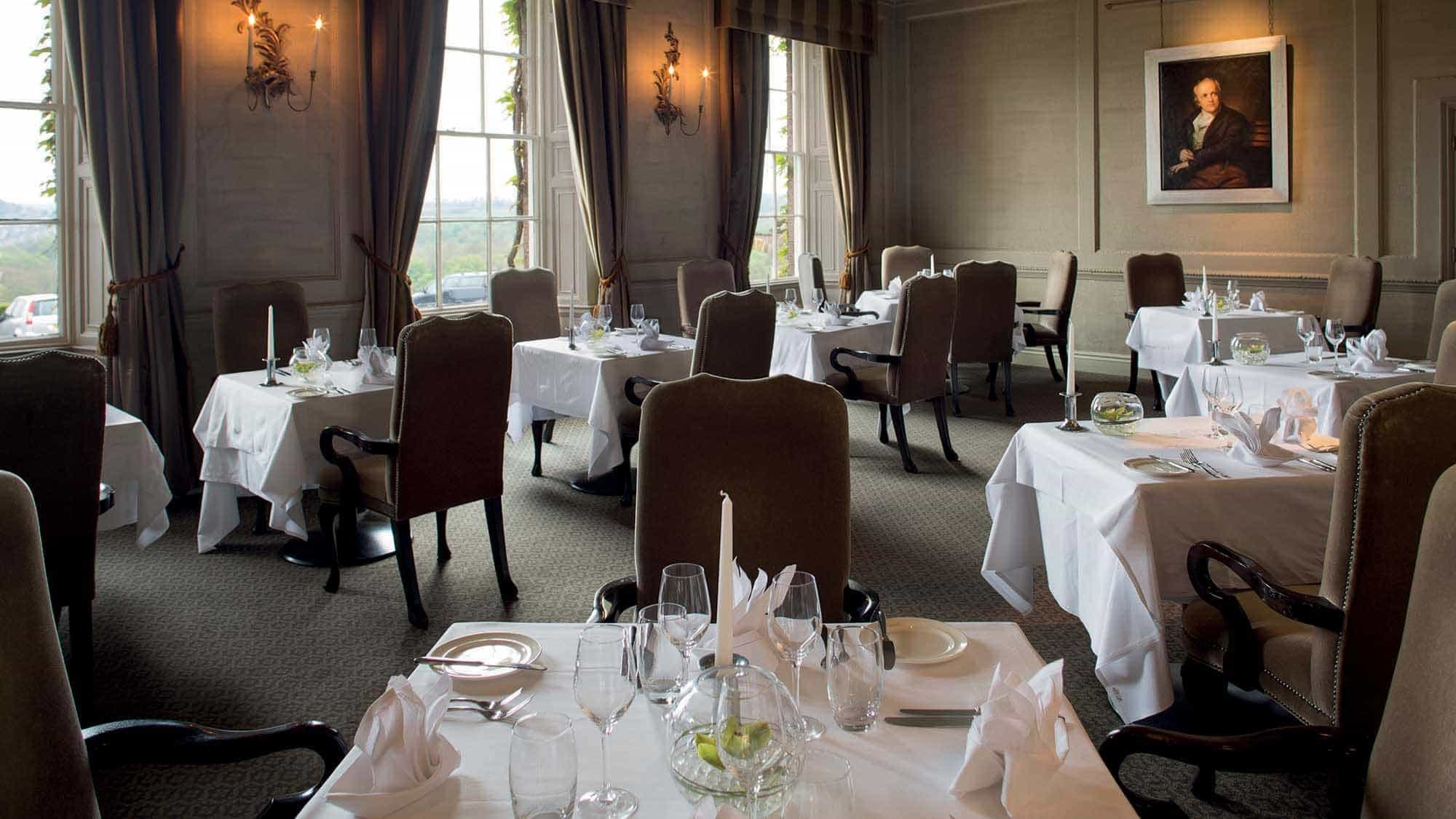 Luxury country house hotel wetherby wood hall hotel spa for Best private dining rooms mississauga